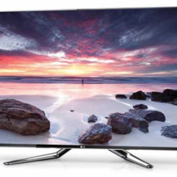 LG Cinema Screen met Smart TV in gebruik