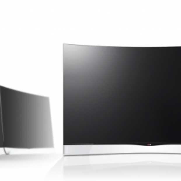 LG's Curved OLED TV nu verkrijgbaar