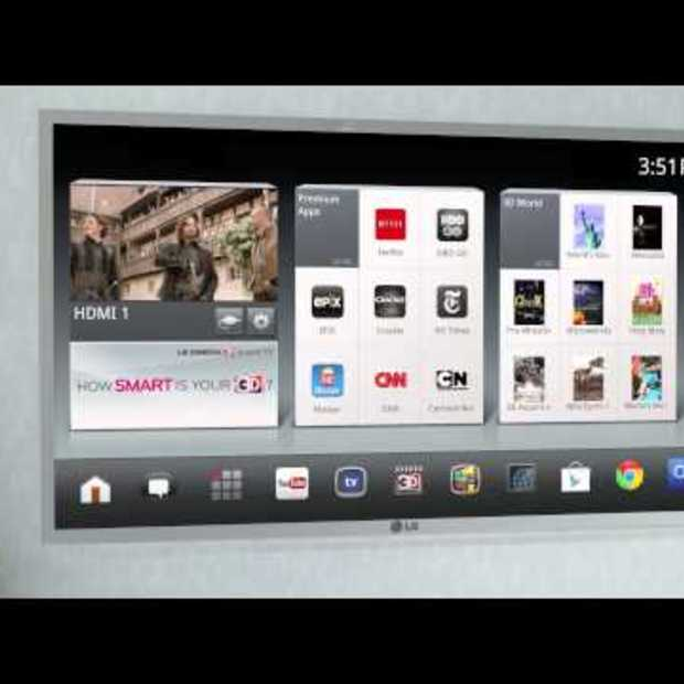 LG Smart TV with Google TV