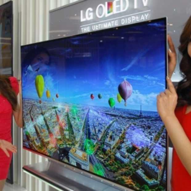 LG start verkoop OLED TV's Benelux