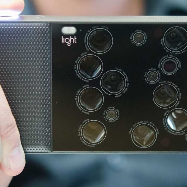 Light L16: 's werelds eerste camera met 16 lenzen
