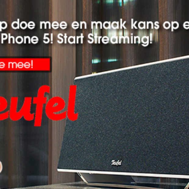 LIKE-ACTIE op Facebook: win iTeufel Air + iPhone 5
