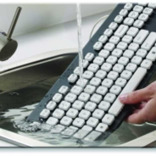 Logitech kondigt afwasbaar toetsenbord aan