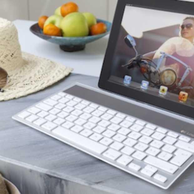 Logitech toetsenbord op zonne-energie voor Mac, iPad en iPhone