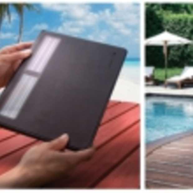 Logitech toetsenbord voor iPad op zonne-energie