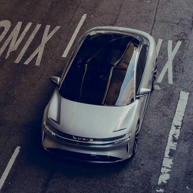 De Lucid Air: Tesla's nieuwe concurrent uit Californië oogt sterk
