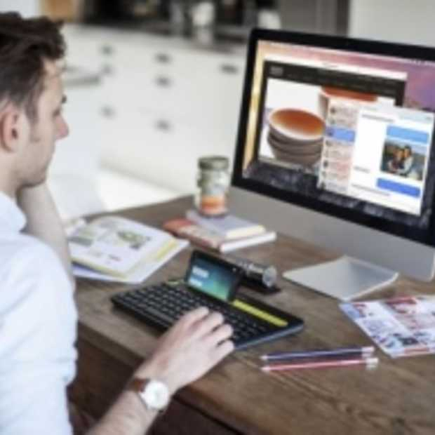 Maak kennis met het nieuwe toetsenbord van Logitech voor computer, smartphone en tabelt!