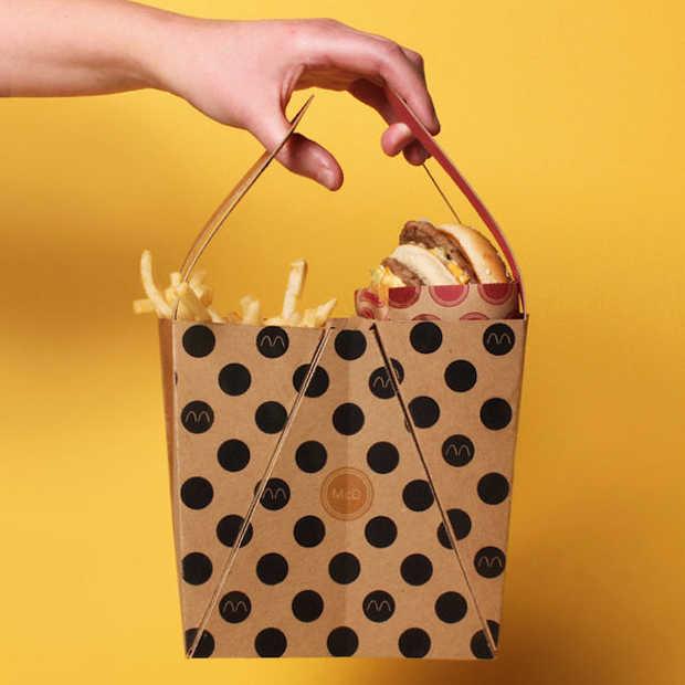 Een super handige en stijlvolle verpakking voor de Big Mac