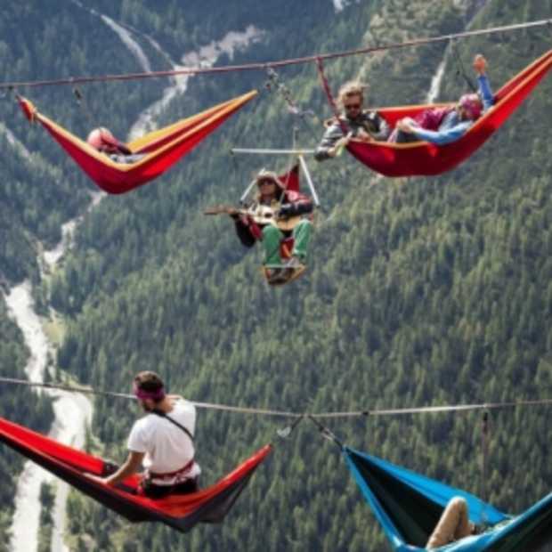 Meest bijzondere festival ter wereld: International Highline meeting