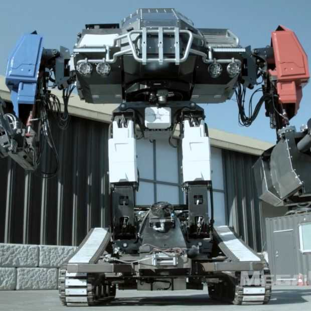 Giant Robot Duel VS versus Japan: dit is Eagle Prime uit Amerika
