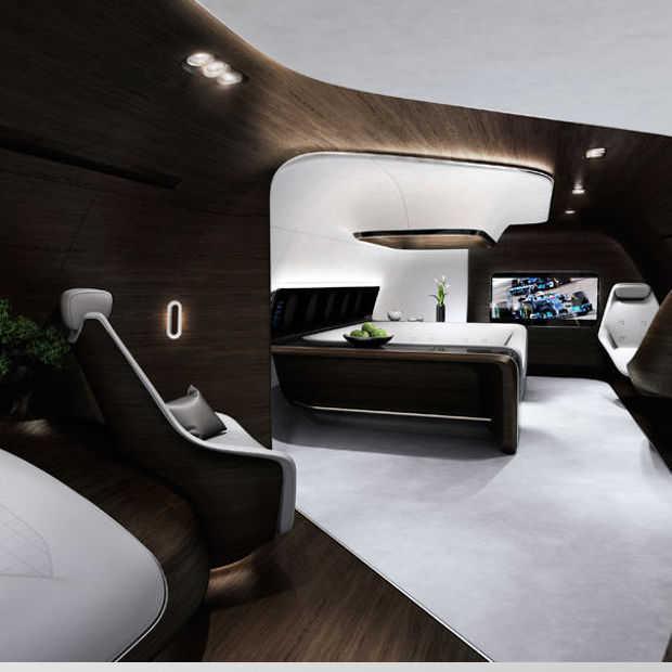 Wil je een privé-jet van Mercedes-Benz? Dat kan!