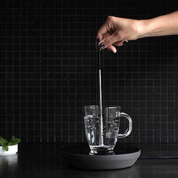 Milieubewuste waterkoker werkt op inductiesysteem