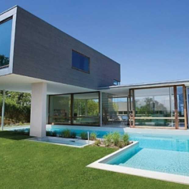 Modern huis om verliefd op te worden - Moderne uitbreiding huis ...