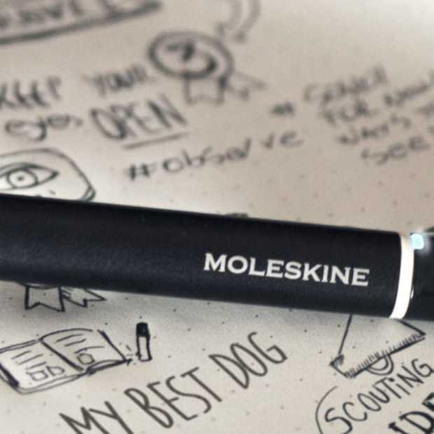 Moleskine Smart Writing Set digitaliseert je aantekeningen
