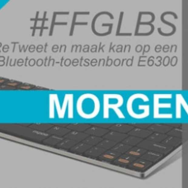 Morgen een #FFGLBS met Rapoo iPad-toetsenbord