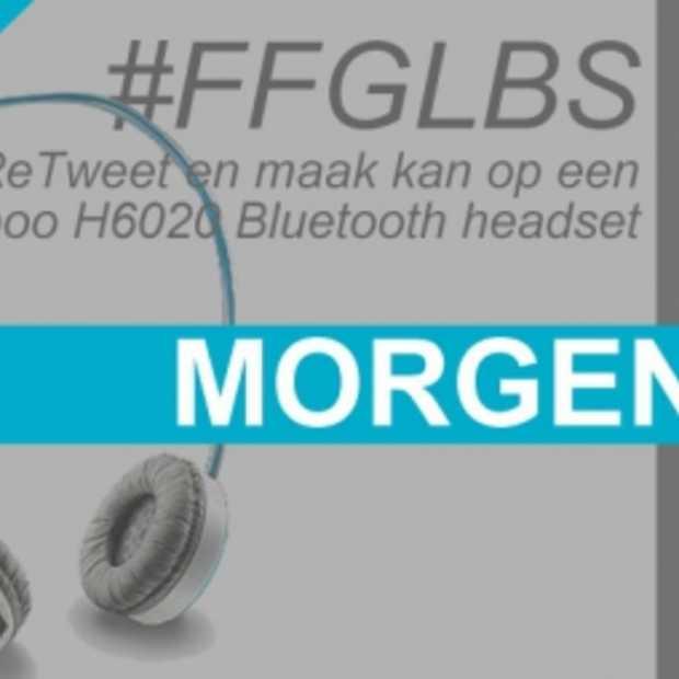 Morgen een #FFGLBS met Stijlvolle Rapoo H6020 Bluetooth headset