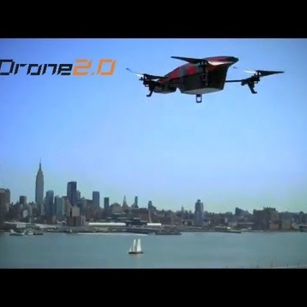 NEW - AR.Drone 2.0 Official Ad