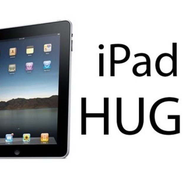 iPad HUGE commercial