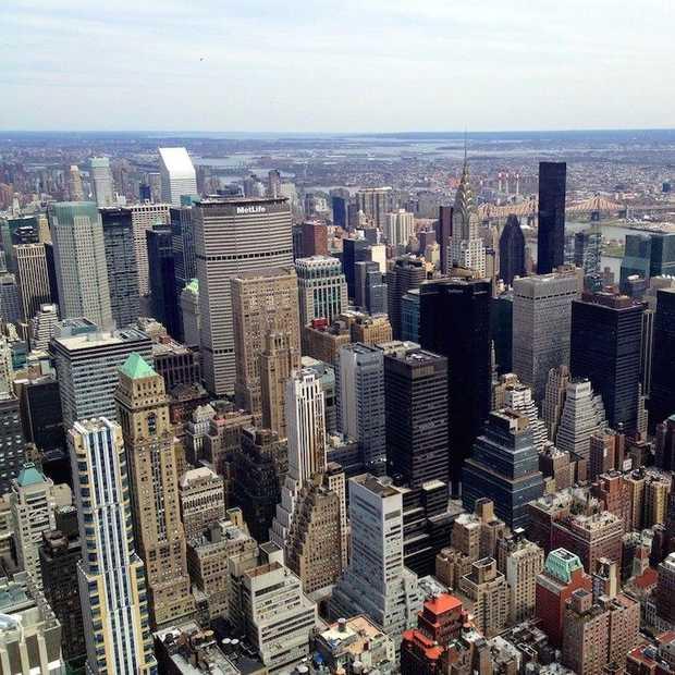 Bizarre time-lapse van Manhattan van 1500 naar 2015