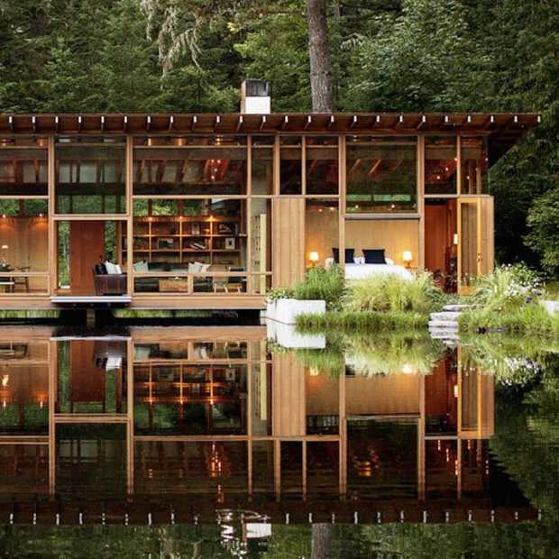 Newberg House: een bijzonder optrekje in Oregon