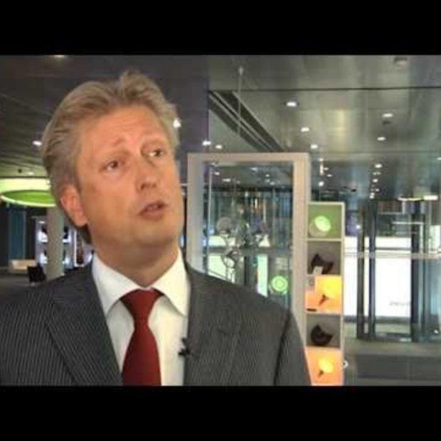 Philips LED straatverlichting reageert op beweging