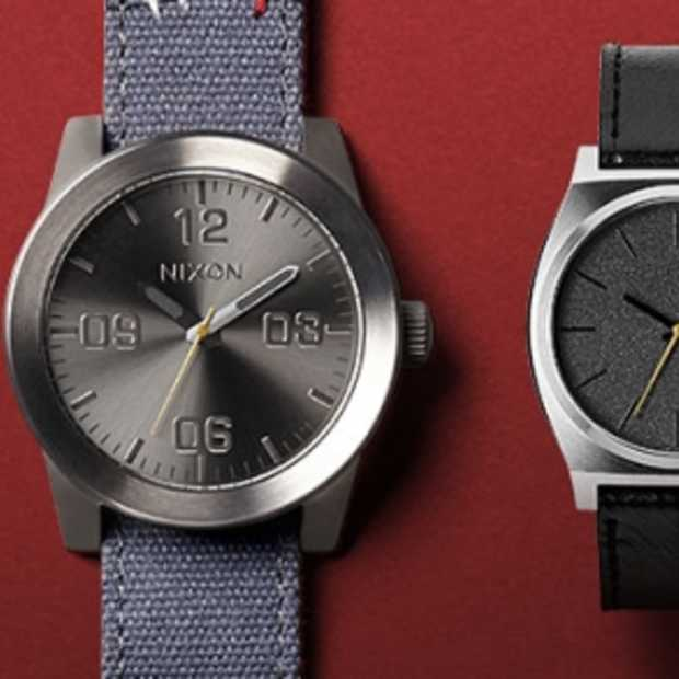 Nieuwste collectie Nixon horloges