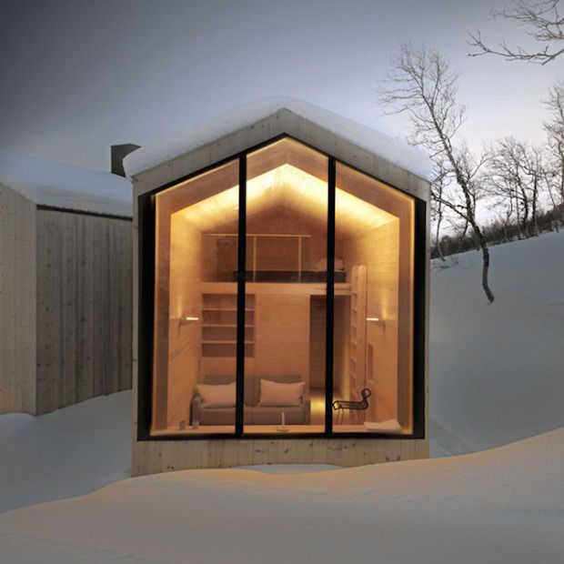 Dit is het ideale vakantiehuis in  Noorwegen!