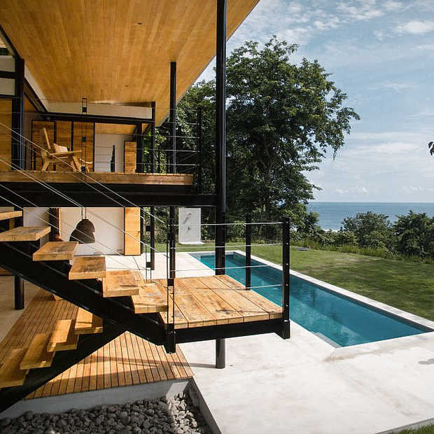 Droomhuis: Ocen Eye House in Costa Rica