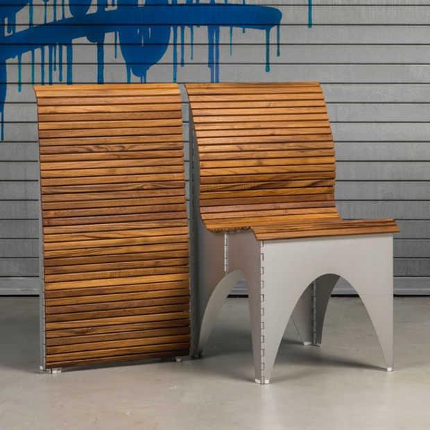 De Ollie stoel: een 'klapstoel' die nergens misstaat