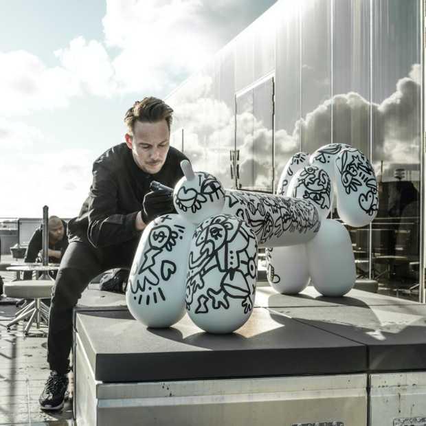 Coole kunst: Pablo Lücker en Fatboy