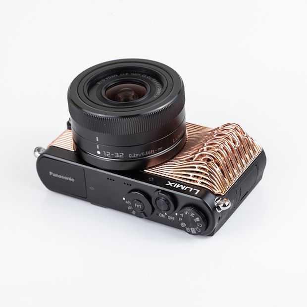 Panasonic komt met 3D-geprinte camera covers