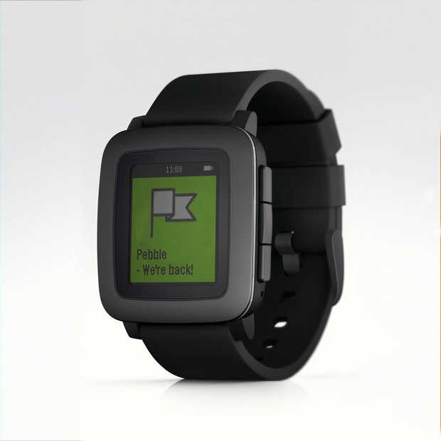 Pebble introduceert de Pebble Time via Kickstarter