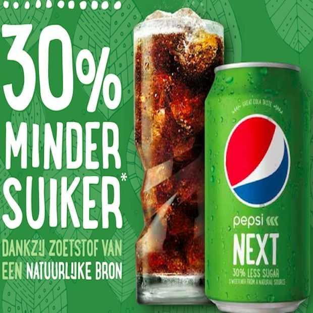 Pepsi Next in een groen jasje!