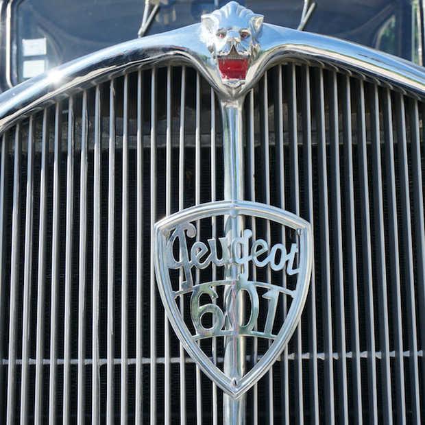 In het automuseum van Peugeot in Sochaux maak je een reis door de tijd
