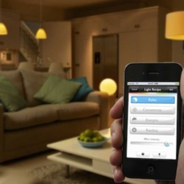 Philips hue – LED-verlichting, bedienbaar met smartphone of tablet