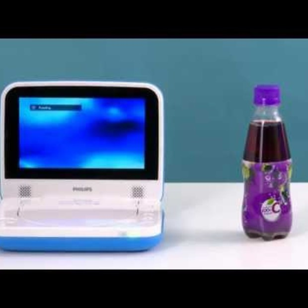 Philips Spill Resistant Portable DVD Player PD7006 series