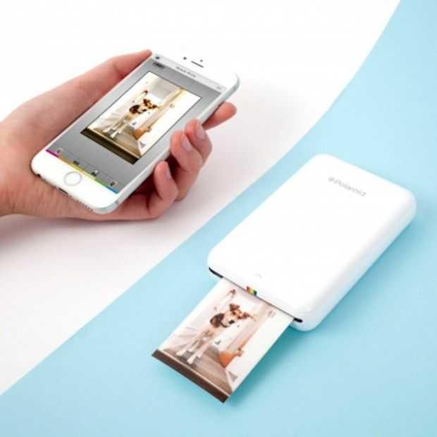 "Polaroid lanceert Instant mobiele printer ""Zip"""
