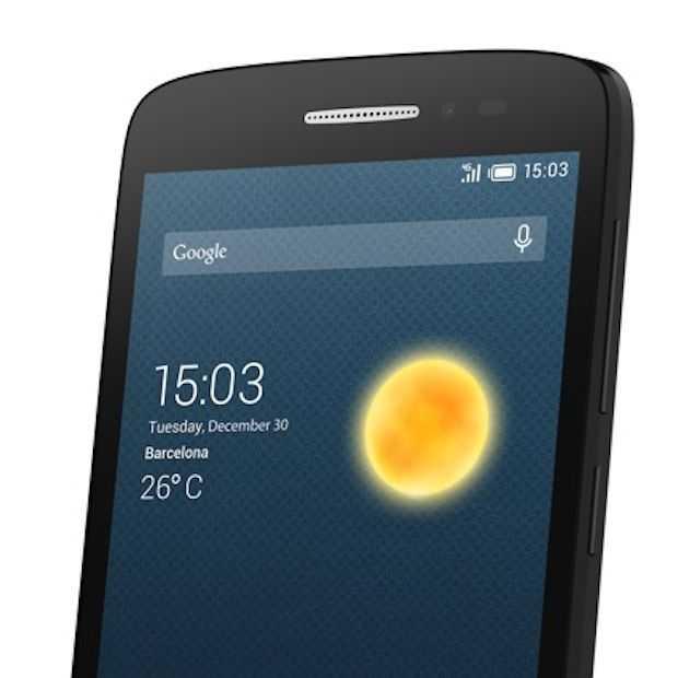 ALCATEL ONETOUCH introduceert goedkoopste Nederlandse 4G smartphone