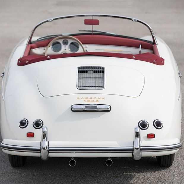 Deze 1955 Porsche 356 Speedster is ouderwets mooi