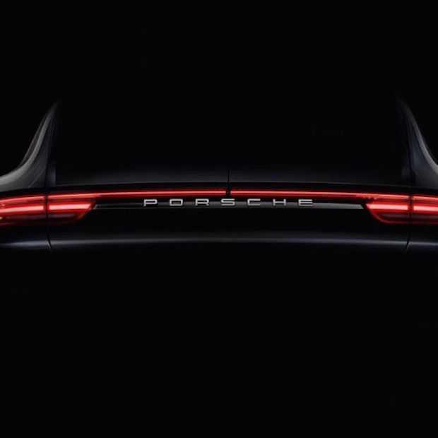 Teaser van de nieuwe Porsche Panamera