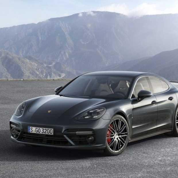 De gloednieuwe Porsche Panamera