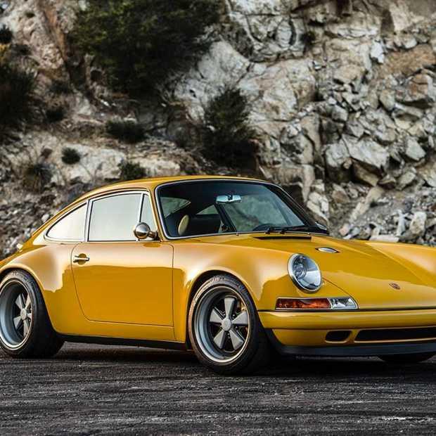 Sneak peek van de Singer Porsche 911 Aurora