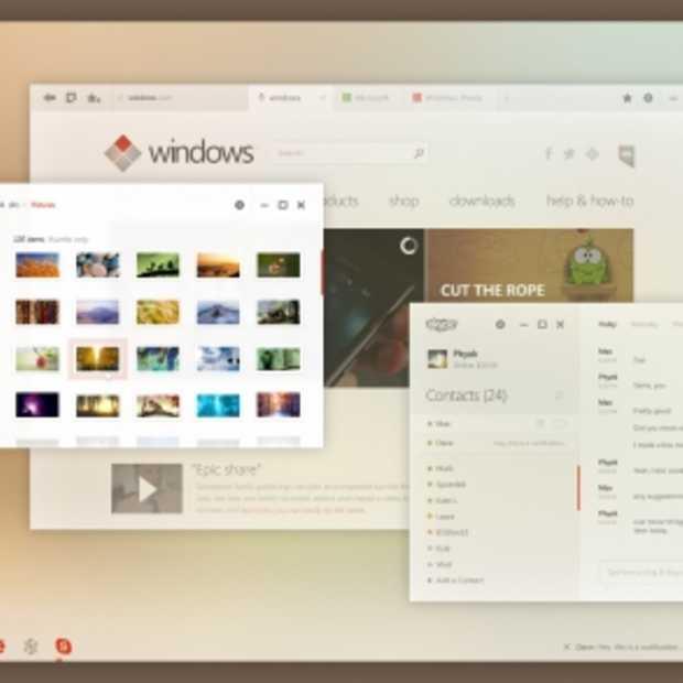 Prachtig Concept UI van Windows 8 Metro
