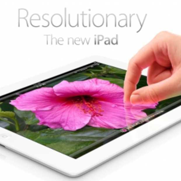 Prijzen van The new iPad, beschikbaar in Nederland vanaf 23 maart