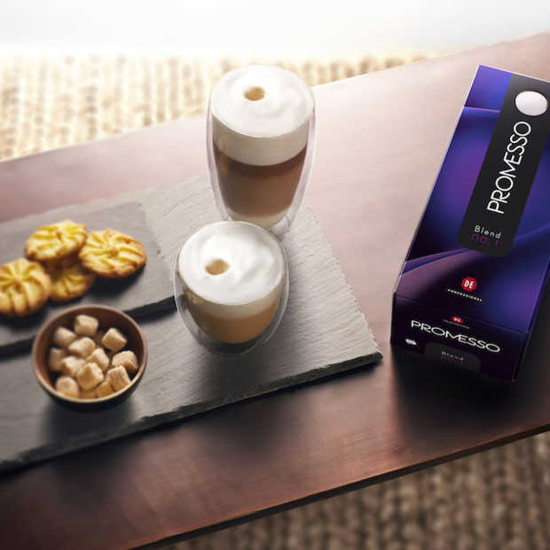 Promesso, het nieuwe koffieconcept van Douwe Egberts