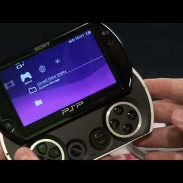 PSP Go unboxing