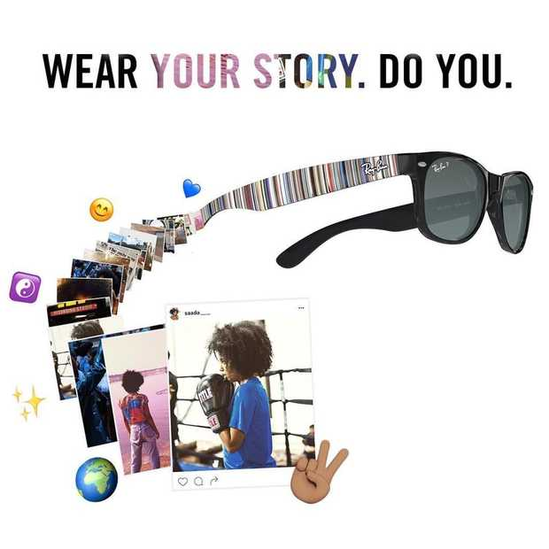 Ray-Ban's customizen met je favoriete Instagram-foto's