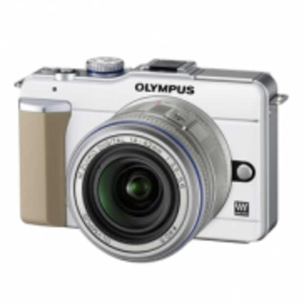 Retrostijl Olympus E PL1 fotocamera