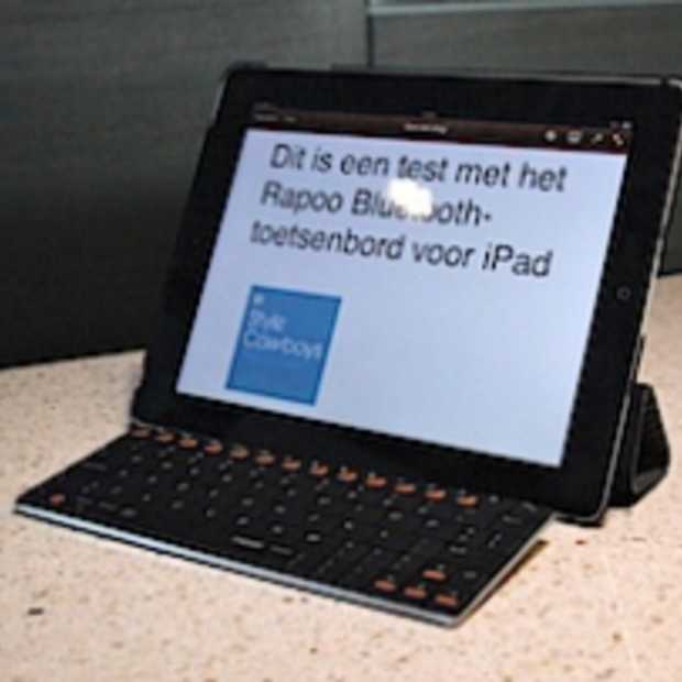 Review Rapoo Ultraplat Bluetooth-toetsenbord voor iPad