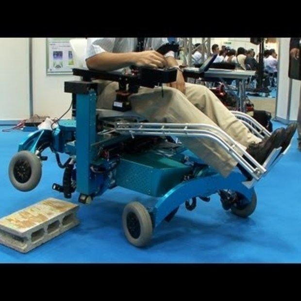 Robotic wheelchair